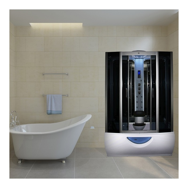 baignoire douche hammam buckingham 165. Black Bedroom Furniture Sets. Home Design Ideas