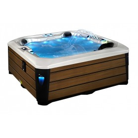 Spa SCANDOLA Zeland® - Jacuzzi 5 places 223 x 223 cm