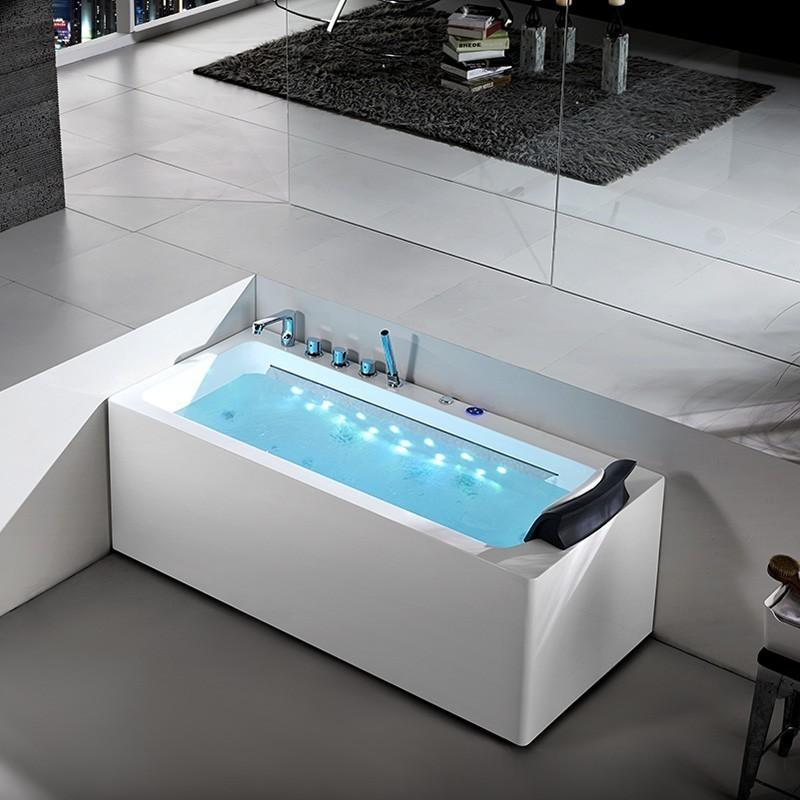 baignoire balneo angle finest baignoire balno concurrence. Black Bedroom Furniture Sets. Home Design Ideas
