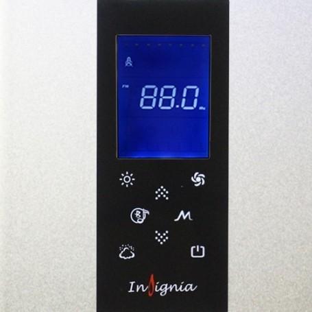 Panneau de contrôle ancienne génération pour douche hammam INSIGNIA (Noir)