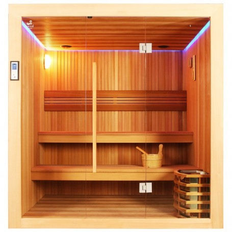 Sauna Boreal® Evasion 200 - 4 à 6 places - 200*170*210