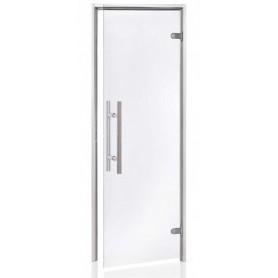 Porte vitrée pour hammam largeur 70 cm hauteur 190 cm