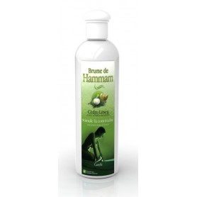 Brume de Hammam PRO à base d'huiles essentielles Cèdre et de Litsea