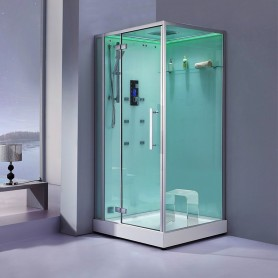 Cabine douche Hammam Archipel® 100G (100x100cm)