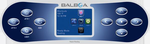 Balboa TP800 Spa Zeland