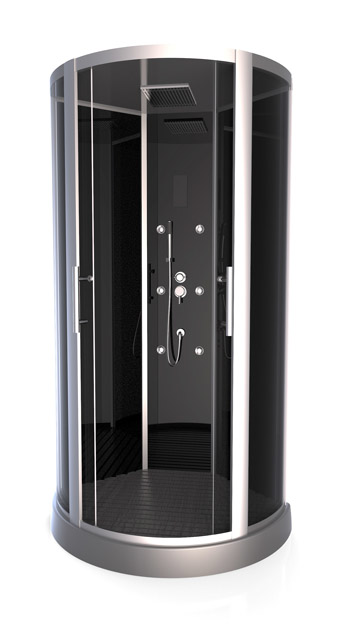 Achat cabine de douche premium round - Achat cabine de douche ...