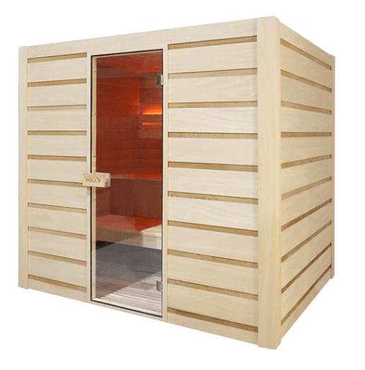 sauna vapeur c leste 6 personnes. Black Bedroom Furniture Sets. Home Design Ideas