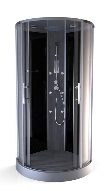 cabine de douche vaporis woody ebay. Black Bedroom Furniture Sets. Home Design Ideas