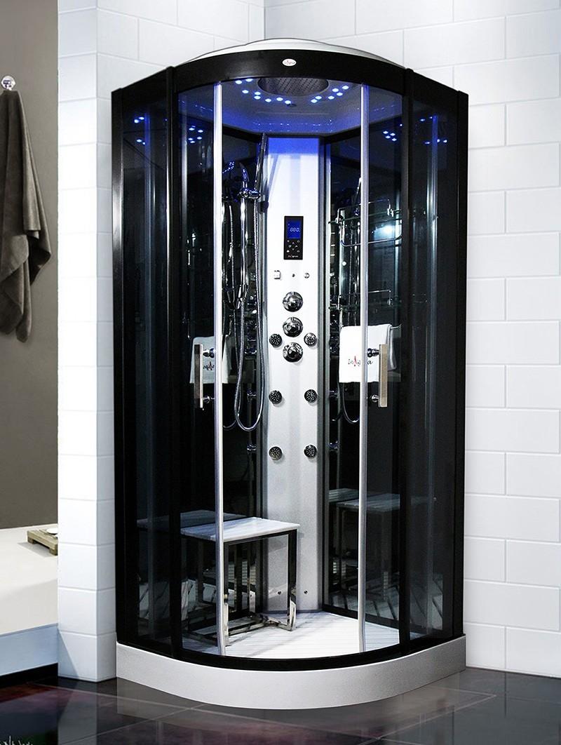 cabine de douche hammam insignia galaxy 90 90x90cm. Black Bedroom Furniture Sets. Home Design Ideas