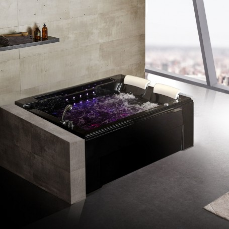 Balneo Archipel® Black Pearl Duo Gauche 191x159 cm