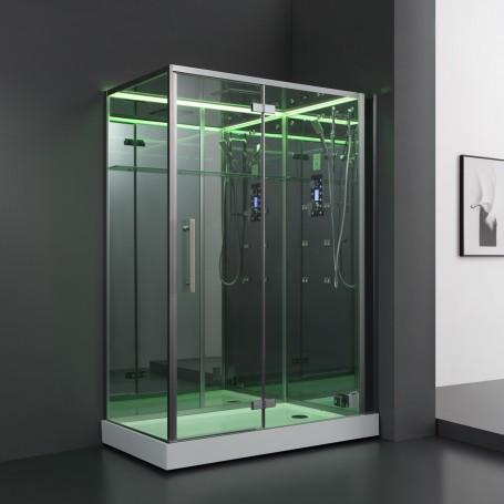Cabine douche Hammam Archipel® 150D MIROIR (150x90 cm)