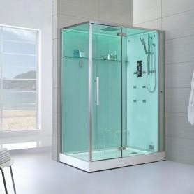 Cabine douche Hammam Archipel® 150D (150x90cm)