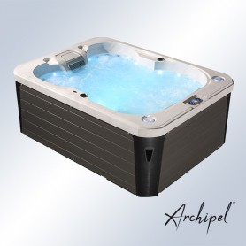 Spa 4 places Archipel® GR4 - Spa Relaxation Balboa® 215 x 160 cm