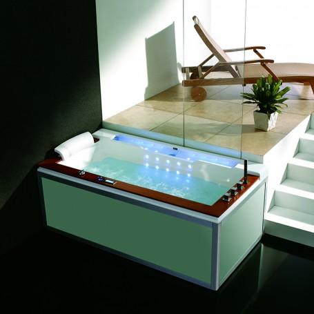 Baignoire balneo ZEN'SPA SOLO 1 place ZELAND® 190x100 - GAUCHE