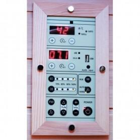 Panneau de contrôle pour sauna Boreal infrarouge Signature / Diffusion