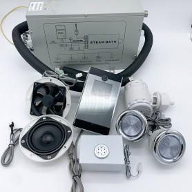 Kit complet pour hammam PS28 de 2 à 4 m cube - avec générateur 2.8kW