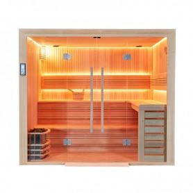 Sauna professionnel PMR Boreal® BALTIK PRO 240 Pour 6 à 7 personnes