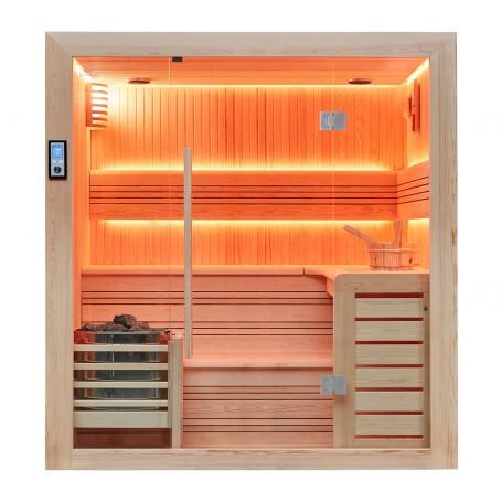 Sauna traditionnel Boreal® Baltik 200 - 200x170x210 cm