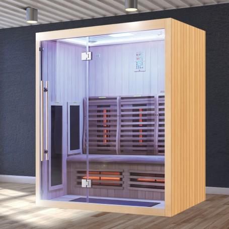 Sauna Infrarouge Boreal® Signature 160 à Spectre Complet