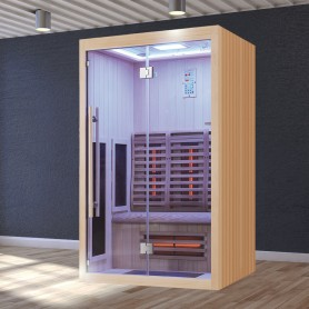Sauna Infrarouge Boreal® Signature 130 à Spectre Complet