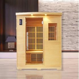 Sauna infrarouge NORDICA® CARBONE 3 PLACES 150x120