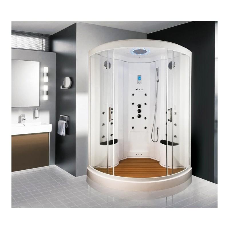 cabine douche hammam insignia xdual allure 138. Black Bedroom Furniture Sets. Home Design Ideas