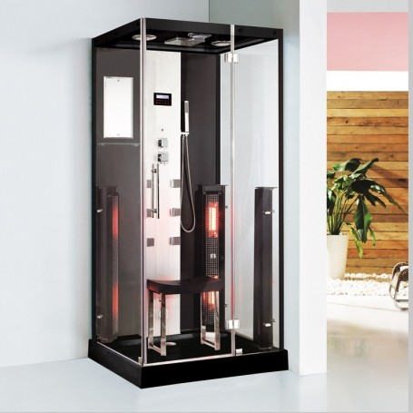Douche Boreal® Combi 100 - hammam + infrarouge