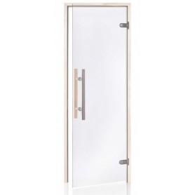 Porte vitrée pour sauna largeur 70 cm et hauteur 190 cm