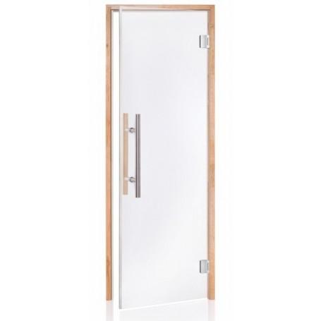 Porte vitrée LUXE pour sauna largeur 70 cm hauteur 190 cm