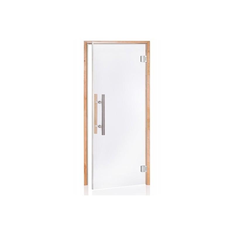 Porte vitrée LUXE PRO pour sauna largeur 90 cm hauteur 200 cm ff0ebcd0053