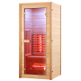 Sauna ​​Boreal® ​90 ​Start' 1 place - Infrarouge à Spectre Complet - ​90x90