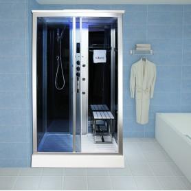 Cabine douche Hammam Insignia XSPACE 110 (110x89cm)