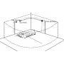 Baignoire balneo d'angle Nuaj ZELAND® 138x138