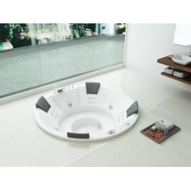 Baignoire balneo d'angle Jade ZELAND® 150x150