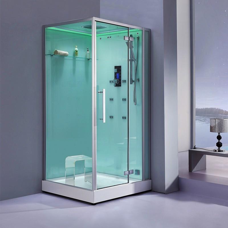 Complètement et trop extrême Cabine douche Hammam Archipel® Pro 100D (100x100cm) 1 à 2 places #KR_73