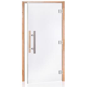Porte vitrée LUXE PRO pour sauna largeur 100 cm hauteur 200 cm