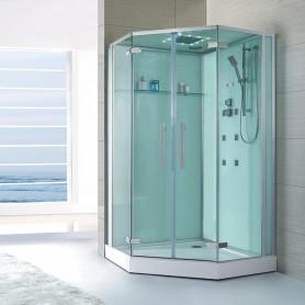 Cabine douche Hammam Archipel® 150D (150x100cm)