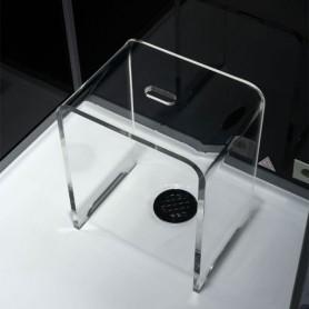 Cabine douche Hammam Archipel Cristal® 90G (90x90cm)