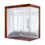 Hammam Boreal® Pro Steam Quatuor 194,5x134,5 Droite - Aristech'® 4 places