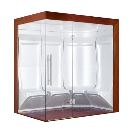 Hammam Boreal® Pro Steam Quatuor 194,5x134,5 Gauche - Aristech'® 4 places