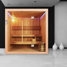 Sauna Boreal EVASION 200 - Mise en situation
