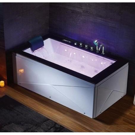 Baignoire balneo Milford 1 place ZELAND® 180x100 - Droite