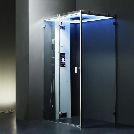 Cabine douche Hammam Archipel Cristal® 120G (120x90cm)