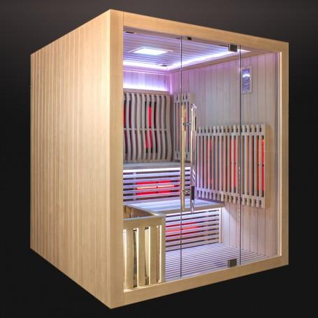 Sauna combi Boreal Elegance 180*180*200H