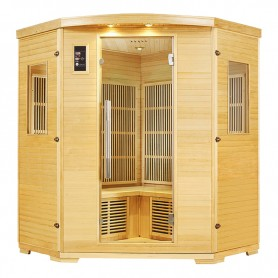 Sauna Nordica Carbone d'angle 3/4 places 150*150