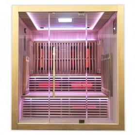 Sauna Boreal® Concept 180 - Infrarouge à Spectre Complet - 180x150x200