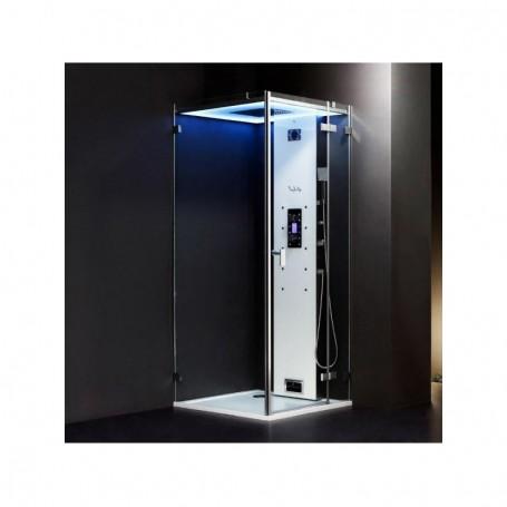 Cabine douche Hammam Archipel Cristal® 90D (90x90cm)