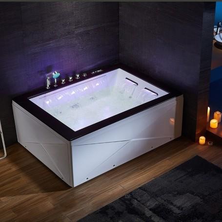 baignoire balneo milford duo zeland 180x130 gauche. Black Bedroom Furniture Sets. Home Design Ideas