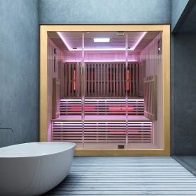 Sauna Infrarouge Boreal® Concept 180 - à Spectre Complet - 180x150x200