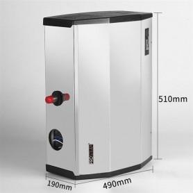 Générateur de vapeur hammam PRO STEAM® CUVE INOX  - 12 kW